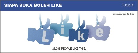 Cara membuat facebook like box