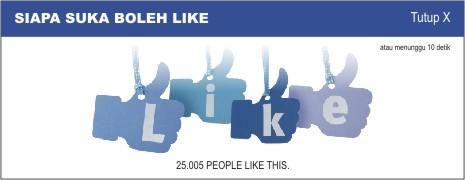Cara membuat facebook like box