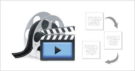 cara menggabungkan video di videopad