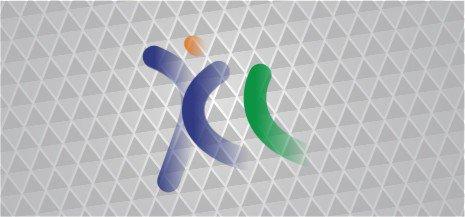 Cara membuat logo XL dengan coreldraw