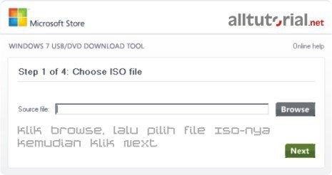 Cara Membuat Bootable Windows 7 dengan Usb Flashdisk