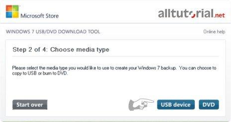 Cara membuat bootable usb dengan Windows 7 USB/DVD Download Tool