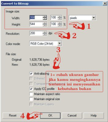 Tutorial Coreldraw - Cara Export File CDR ke JPG