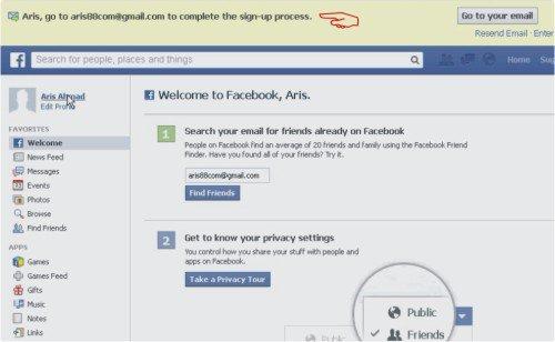 membuat facebook baru lengkap dengan panduan tutorial video