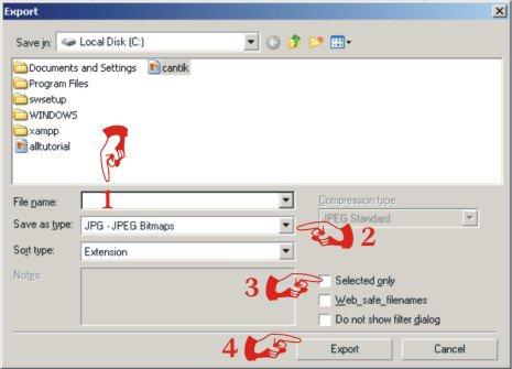 Tutorial Coreldraw - Cara Merubah File CDR ke JPG