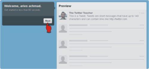 Cara daftar akun twitter baru