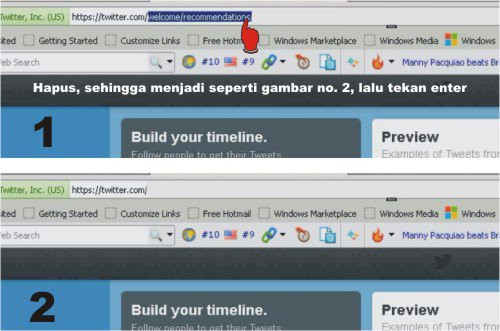 Tutorial membuat twitter
