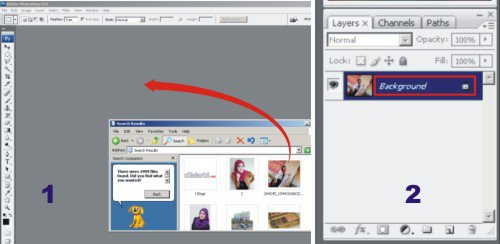 Tutorial Photoshop - Cara Merubah Warna Background Foto