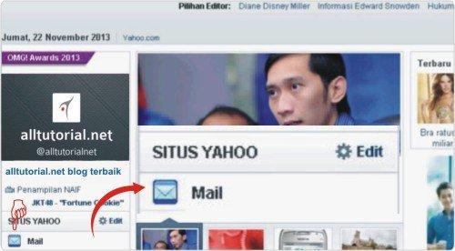langkah-langkah membuat atau daftar email baru melalui yahoo