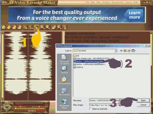 Cara Paling Mudah Membuat Lirik Lagu Karaoke