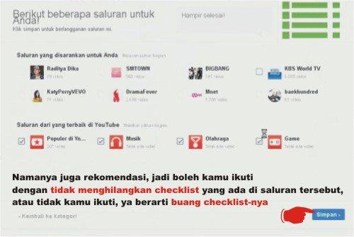 Langkah-langkah membuat akun youtube