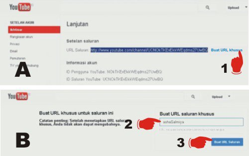 Cara Membuat Akun Youtube (Mendaftar Account di Youtube)