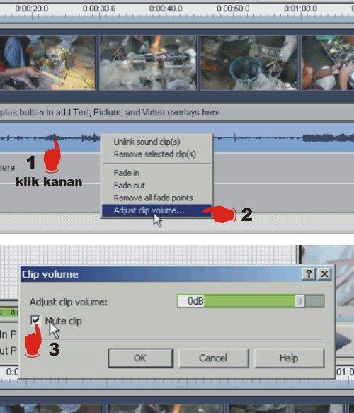 Cara Mengganti Audio Dalam Video dengan Videopad