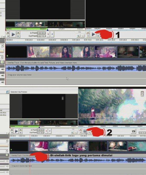 Cara Menambahkan Lirik Lagu Pada Video Musik