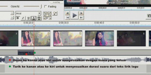 Tutorial Videopad - Cara Menambahkan Lirik Lagu Pada Video Musik