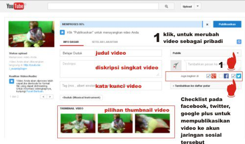 Video Tutorial - Cara Upload Video ke Youtube