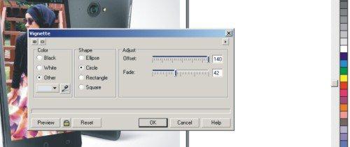 Cara Membuat Foto Wallpaper di Gambar HP dengan Coreldraw