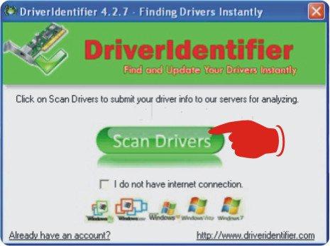 Cara Mendeteksi Driver Windows Dengan Driveridentifier