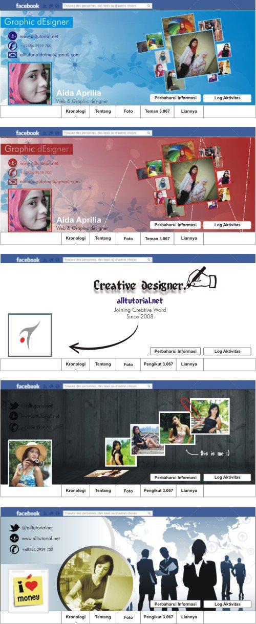 contoh contoh deain sampul facebook keren