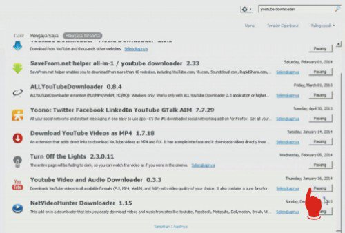 Cara download video di Youtube tanpa software atau dengan software