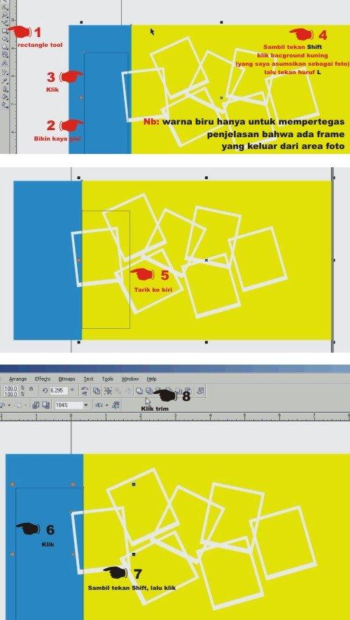 Cara Membuat Foto Kolase Dengan Corel Draw