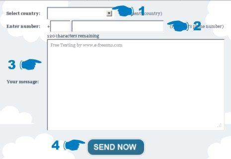Cara Kirim SMS Gratis Ke Seluruh Dunia