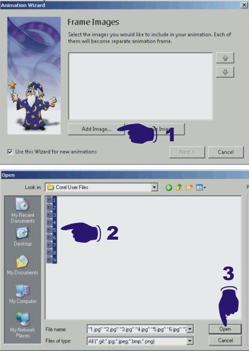 Membuat banner iklan dengan Easy GIF animator