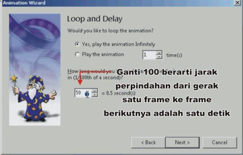 contoh cara membuat  web banner GIF keren