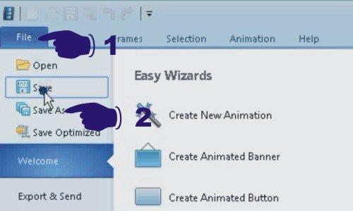 Bagaimana cara membuat banner animasi untuk website