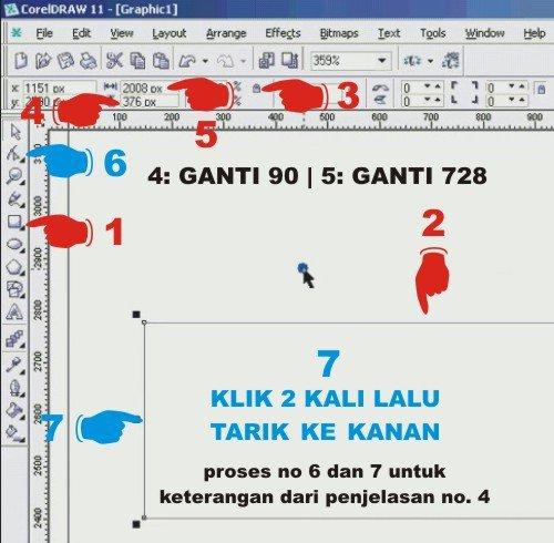cara membuat desain banner web