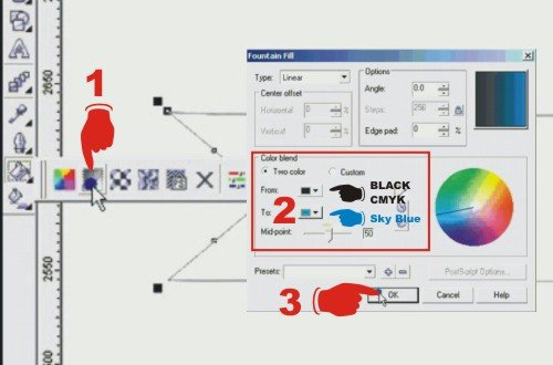 bagaimana cara membuat desain web banner di corel draw