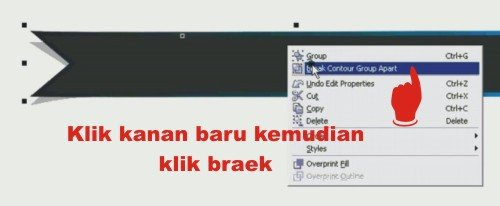 tutorial corel draw - cara bikin banner website