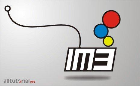 Cara Membuat Logo IM3 dengan Corel draw