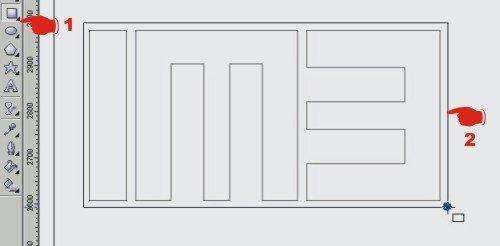 How to make logo im3