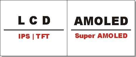Perbedaan Layar AMOLED dengan Layar LCD pada smartphone