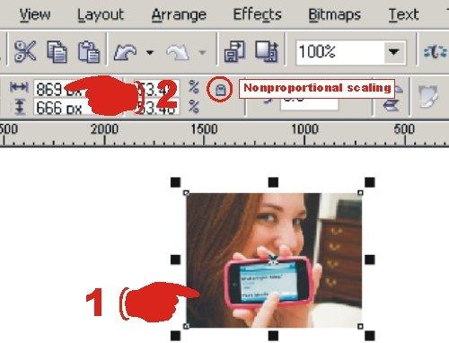 Cara merubah ukuran gambar sesuai yang kita inginkan