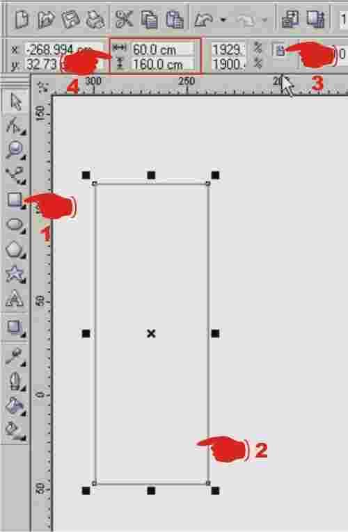 langkah-langkah bikin desain x banner