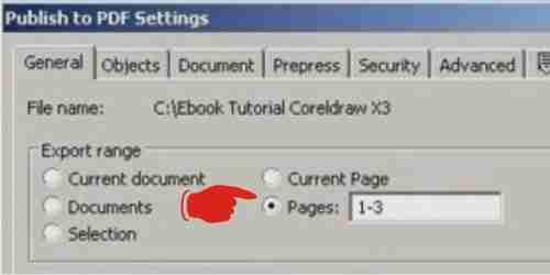 Proses membuat ebook pakai corel draw