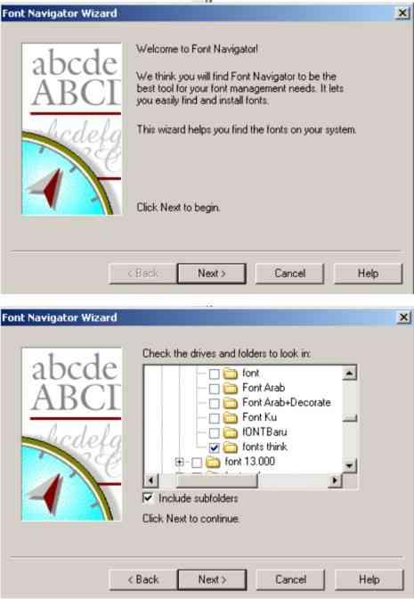 Cara install font di windows