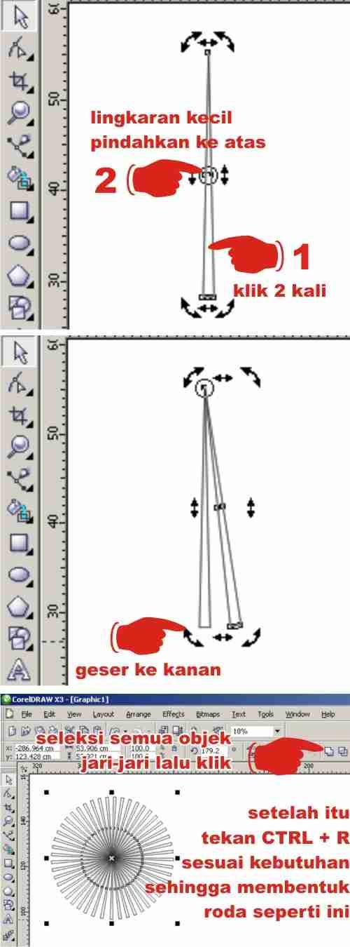 langkah-langkah bikin desain kartu ucapan dengan corel draw