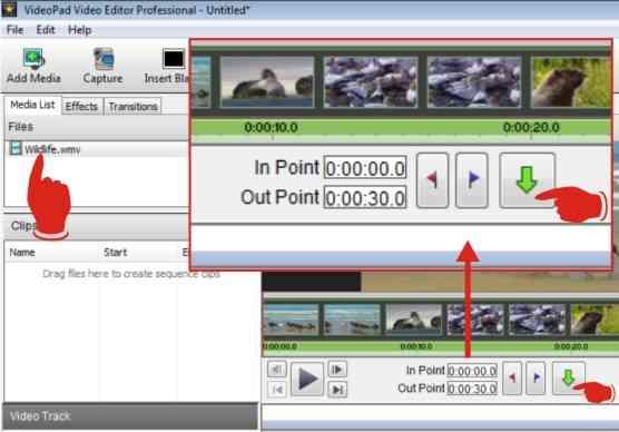 Langkah kedua cara membuat foto dari video