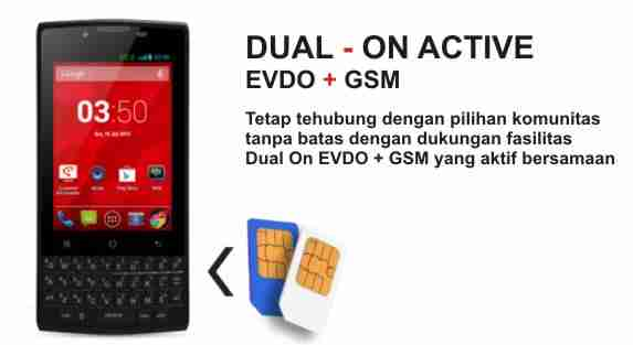Review, Harga & Spesifikasi Smartfren Andromax G2 Touch Qwerty