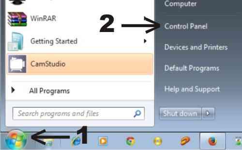 Langkah pertama Cara agar Windows 7 tidak sleep