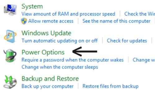 Langkah ketiga Cara agar Windows 7 tidak sleep