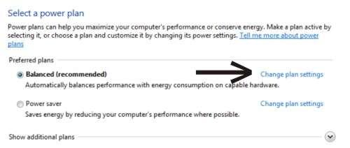 Langkah keempat Cara agar Windows 7 tidak sleep