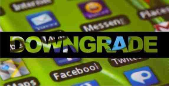 Cara mudah downgrade aplikasi Android