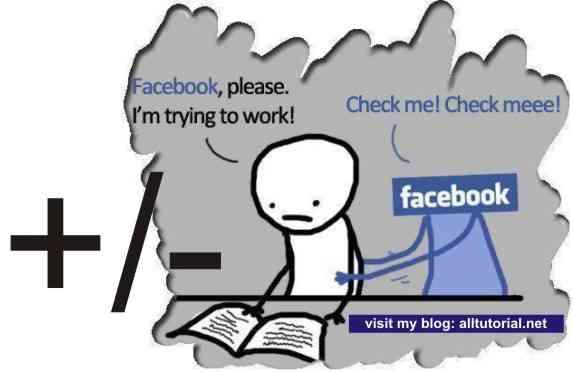 Plus Minus dari Facebook (Efek Positif & Negatif)