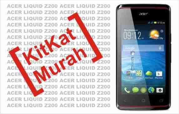 Review, Harga & Spesifikasi Smartphone ACER LIQUID Z200