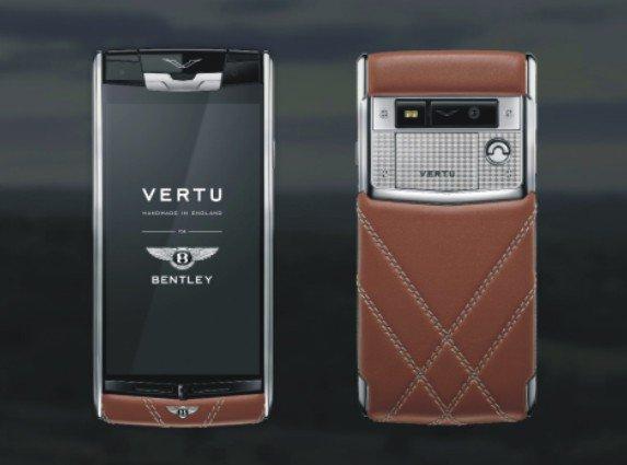 Vertu Aster & Bentley, smartphone premium dengan harga maksimum