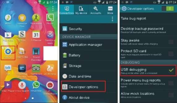 Langkah pertama me-Root Android